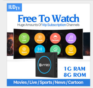 China Iudtv Suscription with Sunnzo IPTV Live Android TV Box