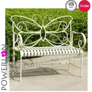 Outdoor Folding Wrought Iron Garden Bench
