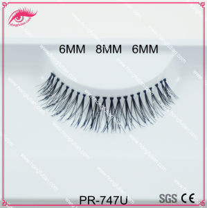 False Eyelash Handmade Natural Long Human Hair Eyelashes Beauty Product pictures & photos