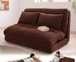 Japanese Style Living Room Furniture Twin Size Futon Sofa Bed For Supplier