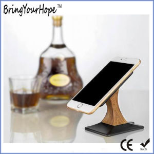 Wooden Finished Phone Stand Wireless Charger (XH-PB-213) pictures & photos