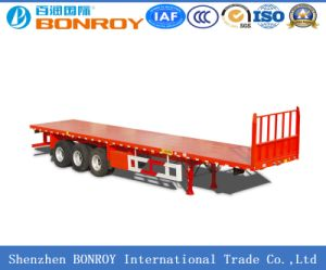 40FT 3axle Flatbed Container Semi-Trailer