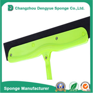 Light-Weight Hard-to-Dry Areas Rubber Squeegee Floor Squeegee Foam Head Blade pictures & photos