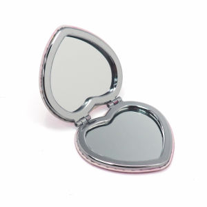 Cheap Promotional Gift Folding Metal Pocket Mirror pictures & photos
