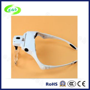1X, 1.5X, 2X, 2.5X, 3.5X Headheld Magnifier Glass Fpr Reading (EGS-9892B5) pictures & photos