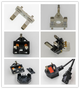 UK Bsi Insert Plug British 3 Pins Electrical AC Plug Insert/Brtain Bsi Power Plug Insert