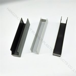 Plastic U Channel Strip Customized in High Quality for Sealing Use pictures & photos