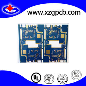 4 Layer Tg140 Enig Nanya Np-140 Blue Mask PCB pictures & photos