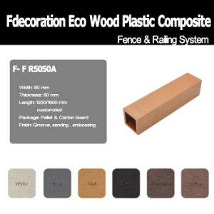 Environmental Plastic Wood Plastic Composite WPC Post
