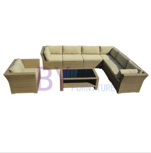 PE Rattan Sofa Leisure Garden Furniture