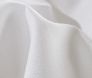 Cotton Fabric 300tc White Bed Sheets Luxury Hotel Linen