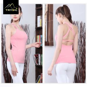 Gym Backless Tank Tops Latest Women Stringer Manufacturer