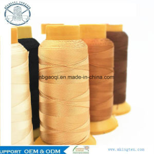 #10 #20 #30 #40 Nylon Polyester Waterproof Sewing Thread for Curtains Tents Umbrella pictures & photos