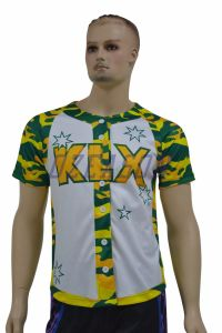 Custom Youth / Adult Dri Fit Plain Sublimation Baseball Apparel (B001) pictures & photos