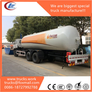 20m3 Dongfeng 8X4 Refilling Dispenser LPG Tank Truck for Sale pictures & photos