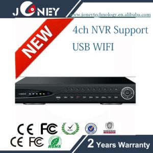 4CH NVR Support 4CH 720p/960p/1080P/3MP/5MP Rt3070 USB WiFi pictures & photos