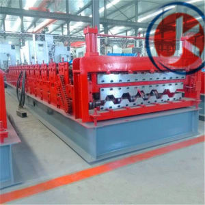 Hot Selling Double Layer Trapezoidal and Wave Roof Panel Roll Forming Machine pictures & photos