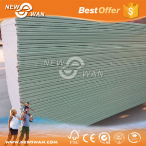 Moisture Resistant / Water Proof Gypsum Board Plasterboard Drywall pictures & photos