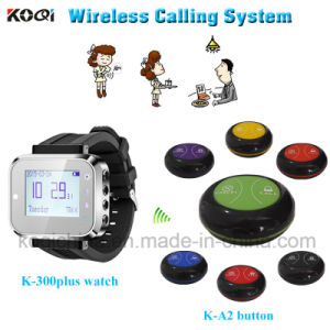 New Technical Restaurant Service Call Wireless Calling System with Sound and Vibration pictures & photos