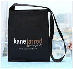 Non-Woven Single-Shoulder Black Bag, New Fashion Bags