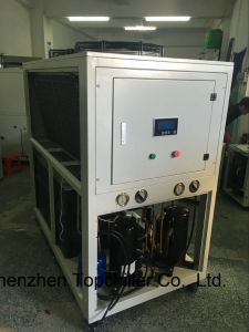 -10c/-25c High Effiency Air Cooled Glycol Chiller for Powder Coating pictures & photos