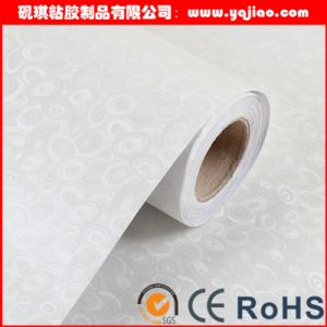 PVC Adhesive fingerprint film Pure white printing Embossed decorative pictures & photos