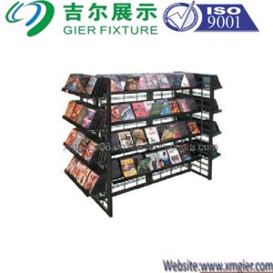 Slat Grid up-Right Mobile CD DVD Displays (GDS-019) pictures & photos