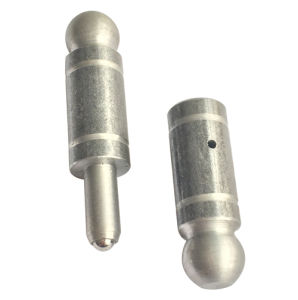 Welding Bullet Hinge Round Head with Steel Ball pictures & photos