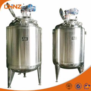 Factory Price Chemical Jacket Kettle Tank with Agitator Industrial Food Mixer