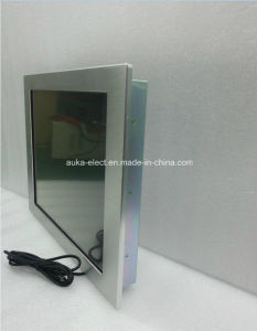15′′ Industrial Touch Screen LCD Monitor with Aluminum Bezel IP65 pictures & photos