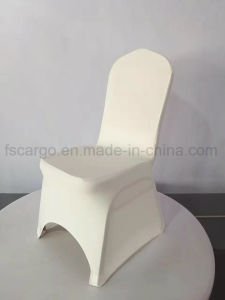 china off white color spandex cover for banquet chair used cgcc1705