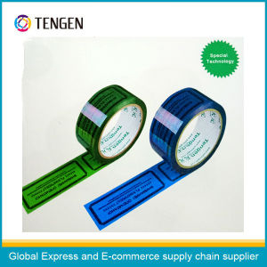 Adhesive Tape with Perforated Lines