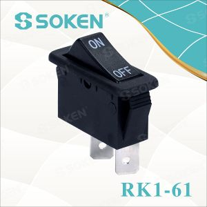 Soken Switch on off Rocker Switch T85 Spst pictures & photos