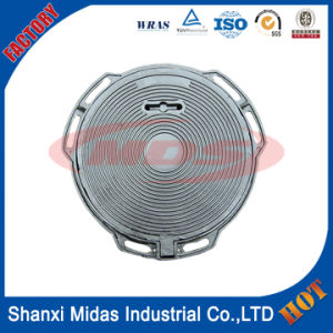Hot Selling Standard Lockable Manhole Cover, Hinged Telecom Manhole Cover pictures & photos