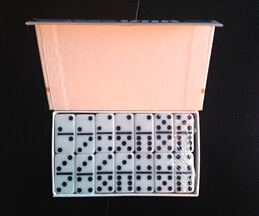 Domino in Double Color or Single Color, Domino Set