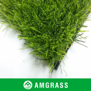 U Shaped Durable and Soft Landscaping Turf Grass 25mm Height