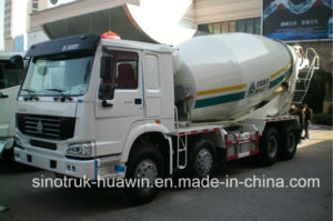 Sinotruk Concrete Mixer Truck with 8-16cbm Capacity pictures & photos