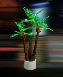 Yaye CE/RoHS Approval LED Palm Tree Light / Outdoor LED Palm Tree Lights with Warranty 2 Years pictures & photos