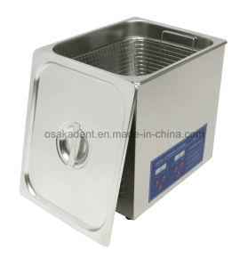 Digital Timing Belt Heating Control 14L Dental Ultrasonic Cleaner pictures & photos