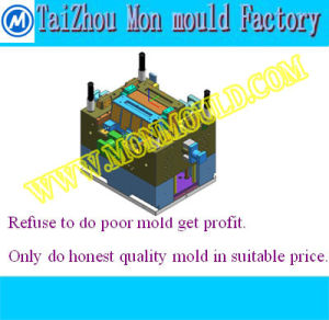 Injection Plastic Square Bowl Mould