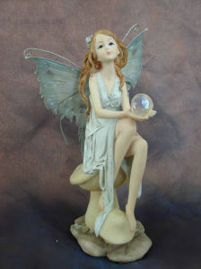 Resin Sculpture Statues Fairy for Decoration