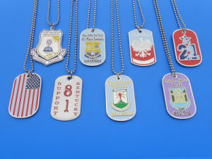 Military Army Dog Tag Necklace pictures & photos