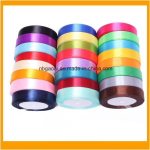 Wholesale High Quality 100% Polyester Stain Ribbon pictures & photos