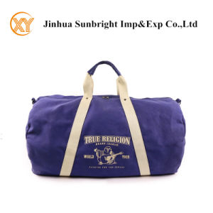 Top Handle Durable Canvas Duffle Bag