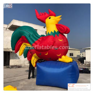 Welcome 2017 Chicken Year Inflatable Chicken Rooster Replica Hot Sale