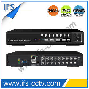 China 4CH D1 Standalone DVR with Free DDNS (ISR-5004D