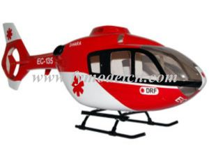 China Fuselage (EC135 500SIZE RED&BLACK PAINTING) - China