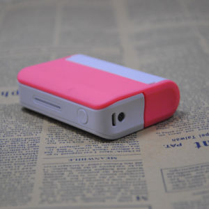 3, 000mAh Portable Mobile Power with Mirror and Holder
