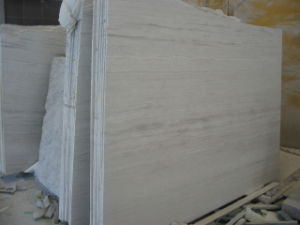 China White Wooden Marble