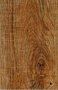 Knifed Grain and Registered Embossed Laminate Flooring of V Groove pictures & photos